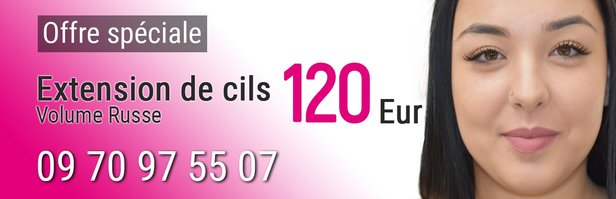 Extension de cils Volume Russe